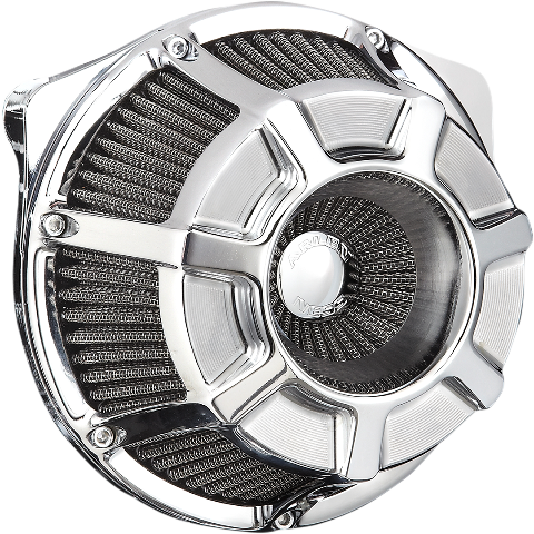 Arlen Ness Chrome Inverted Air Cleaner Filter Kit for 17-19 Harley Touring FLHX