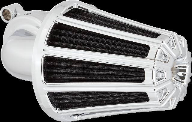 Arlen Ness Chrome Monster Sucker Air Cleaner Filter 08-17 Harley Touring Softail