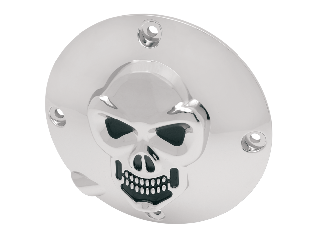Drag Specialties chrome 3-D skull derby cover 94-03 Harley Sportster XL XLH
