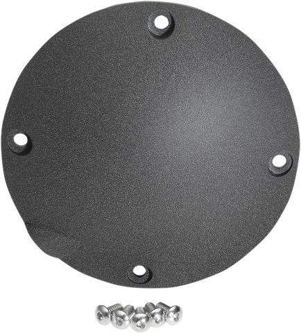 Drag Specialties Black Wrinkle Finish 4 Hole Derby Cover 94-03 Harley Sportster