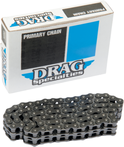 Drag Specialties 428-2 x 76 Link Primary Chain 80-06 Harley FXR FLHT FLTR FXRS