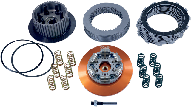 Barnett Low Profile Lock up Clutch Kit for 07-10 Harley Dyna Softail Touring
