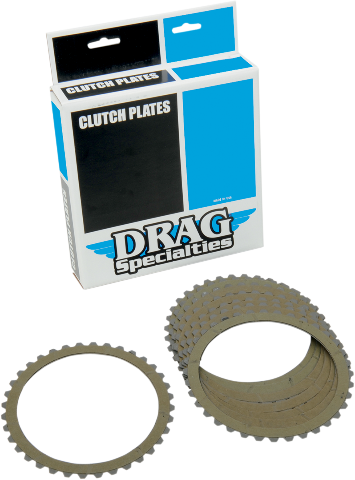 Drag Specialties Friction Plates 90-19 Buell Harley Dyna XL Touring FLSTN