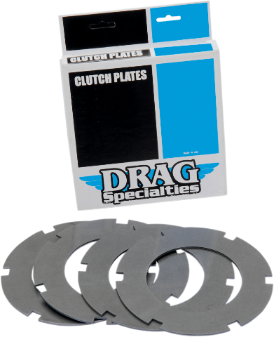 Drag Specialties Steel Clutch Plate Kit for 68-84 Harley Touring Softail FXST FX