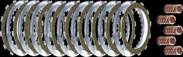 Belt Drives LTD High Performance Clutch Plate Kit 02-07 Harley V-Rod Night Rod