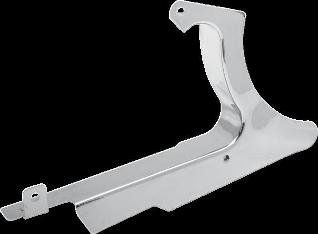 Drag Specialties Chrome Lower Belt Guard 07-17 Harley Softail FXS FLSTF FLS FXST