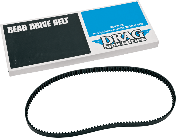 Drag Specialties Black Rear Drive Belt 133 Tooth 00-06 Harley DYNA FXD FXDWG
