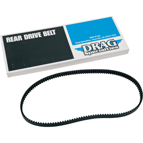 Drag Specialties 24mm Black 140 Tooth Rear Drive Belt  09-19 Harley Touring FLHX