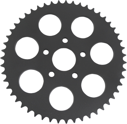 Drag Specialties Black 51 Tooth Dished Rear Sprocket for 86-99 Harley Touring XL