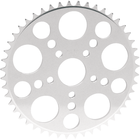 PBI Chromate 1.9 Bore 52 Tooth 520 Flat Rear Sprocket for 91-99 Harley Sportster