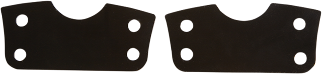 """Cycle Visions Black 21"""" Front Fender Risers 14-19 Harley Touring FLHR FLHX FLRT"""
