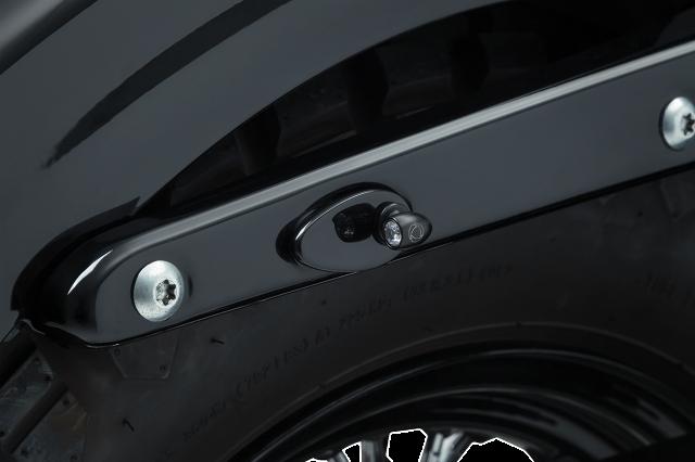 Kuryakyn 2578 Black Fender Strut Plate Covers For 02 19 Harley Sportster Fxd