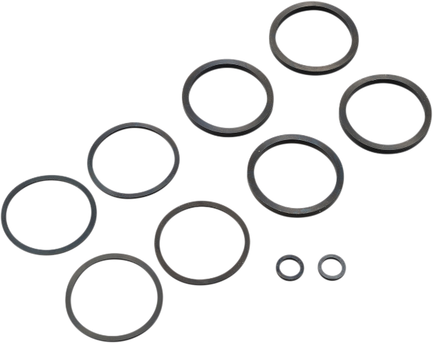 Drag Specialties Brake Caliper Seal Kit for 00-07 Harley Dyna Touring Softail XL