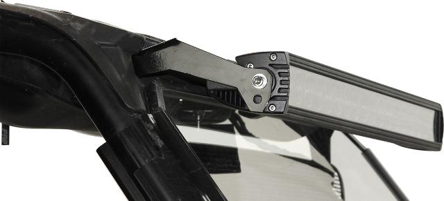 "Seizmik Black 30"" Side by Side UTV Lightbar Brackets for 14-15 Polaris RZR 1000"