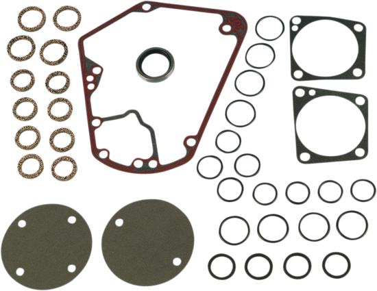 James Gasket Cam Gear Quick Change Gasket Kit 70-92 Harley DYNA Softail FXR FXS