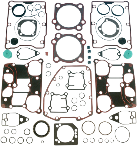 "James Gasket 88"" Twin Cam Engine Gasket Kit 99-04 Harley Dyna Touring Softail"