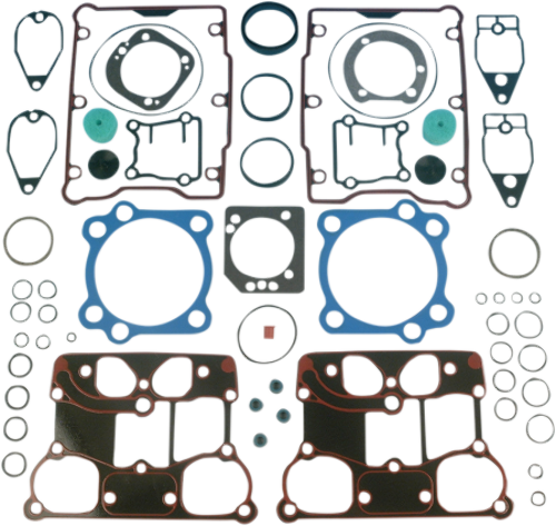 """James Gasket 95"""" Top End Gasket Kit 99-04 Harley Touring Dyna Softail Twincam"""