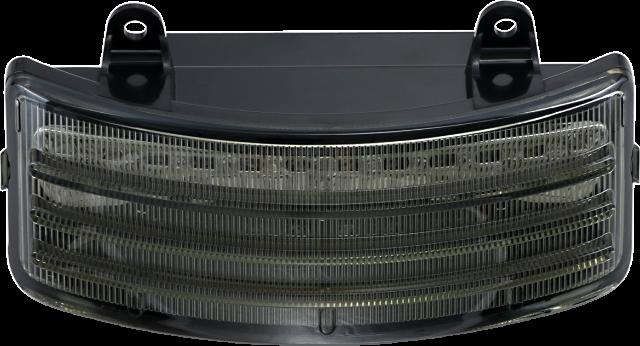 Custom Dynamics Probeam Smoke Lens LED Rear Brake Light for 10-19 Harley Touring