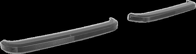Custom Dynamics Smoke Lens LED Rear Saddlebag Lights for 99-13 Harley Touring