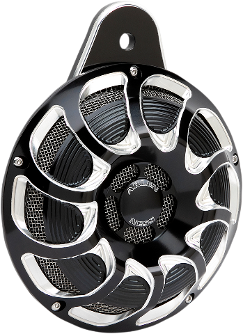 Arlen Ness Black Drift Electric Horn Kit 99-20 Harley Twin Cam & M-Eight
