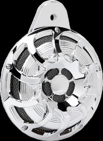 Arlen Ness Chrome Drift Electric Horn Kit 99-20 Harley Twin Cam & M-Eight
