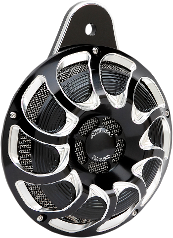 Arlen Ness Billet Black Silver Drift Electric Horn 07-20 Harley Sportster XL
