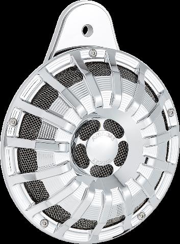 Arlen Ness Chrome 15 Spoke Electric Horn Kit 99-20 Harley Twin Cam & M-Eight
