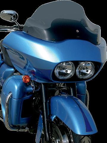 Klock Werks 12'' Dark Smoke Flare Whindshield for 98-13 Harley Road Glide FLTR