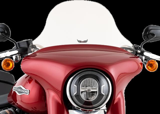 "Slipstreamer 10"" Tint Motorcycle Fairing Windshield 18-20 Harley Softail FLSB"