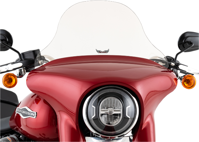 "Slipstreamer 14"" Tint Motorcycle Fairing Windshield 18-20 Harley Softail FLSB"