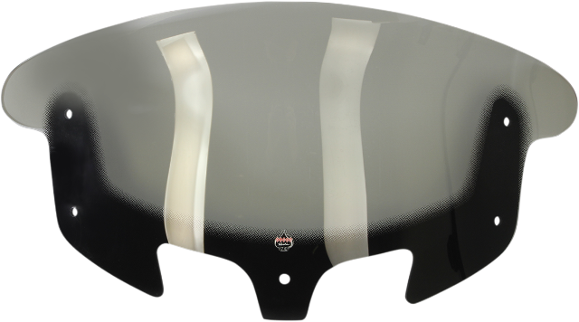 """Klock Werks Clear Flare 12"""" Front Fairing Windshield for 14-19 Indian Chieftain"""