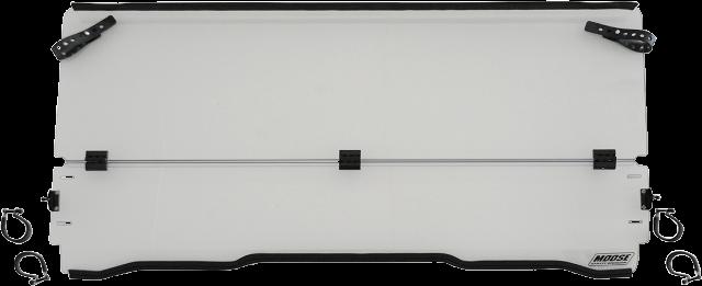 Moose Clear Full Folding UTV Windshield for 16-19 Honda Pioneer 1000 1000-5