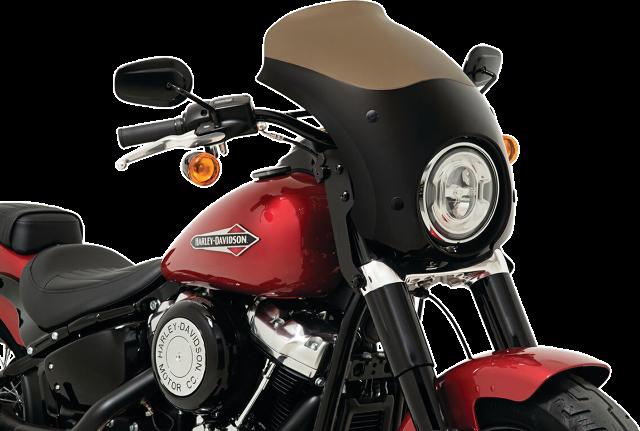 Memphis Shades Black Bullet Fairing Trigger Lock Mounting Kit 18-19 Harley FLSL