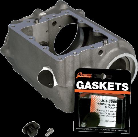 James Gasket 4 Speed Transmission Trans Speedometer Block Off Plug 48-80 Harley