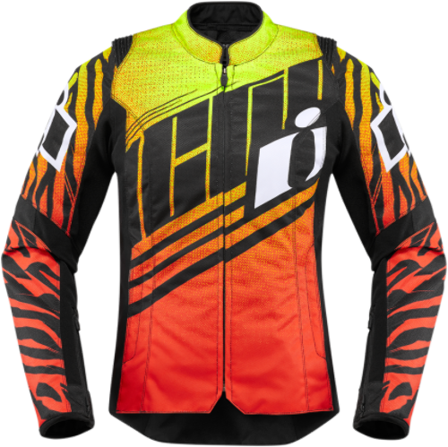 Icon Womens Wyld Chyld Overlord Textile Motorcycle Riding Street Racing Jacket