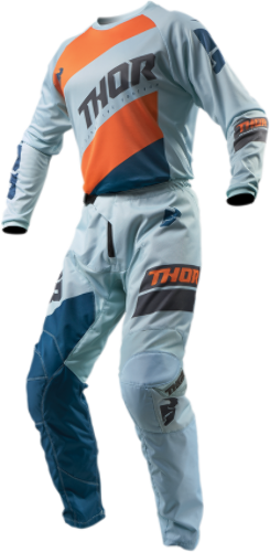 Thor Sector Mens S9 Textile Offroad Riding Dirt Bike Racing Jersey & Pants Set