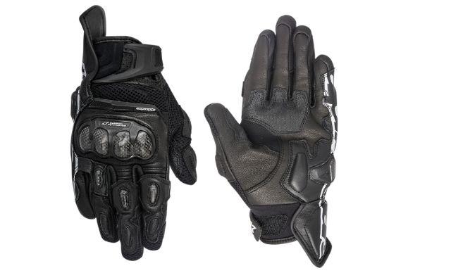 Alpinestars SP-X AC Black Medium Mens Motorcycle Riding Street Racing Gloves