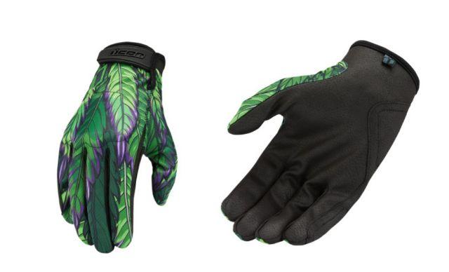 Icon Hooligan Rite Mind Mens Textile Motorcycle Riding Street Racing Gloves
