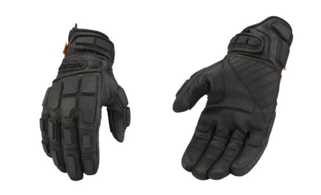 Icon Motorhead3 CE Mens Synthetic Leather Motorcycle Riding Street Racing Gloves