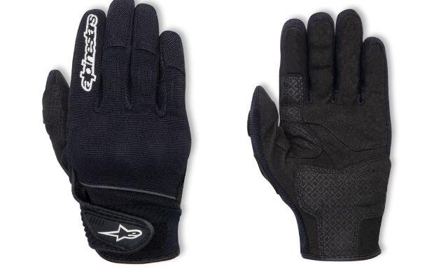 Alpinestars Spartan Women's Medium Black Motorcycle Riding Street Racing Gloves