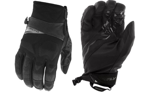 Fly Racing Boundary Unisex Adult Black Motorcycle Riding Street Racing Gloves