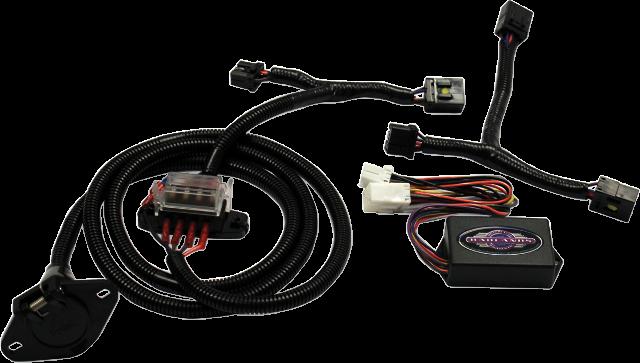 motor trike rear trailer hitch wiring harness 09-13 harley davidson tri  glide | ebay  ebay