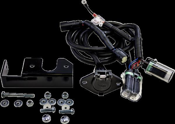 motor trike rear trailer wiring harness 14-16 harley davidson tri glide  flhtcutg   ebay  ebay