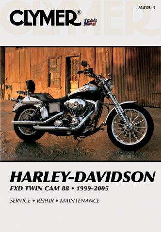 Clymer Service Repair Manual Harley Davidson 99-05 Fxd Fxdwg Dyna Superglide