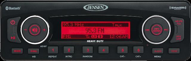 Jensen HD Stereo System Harley 98-13 Touring FLHT FLTR FLHX Bluetooth SiriusXM