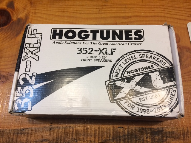 Hogtunes Xl Series 2 Ohm Front Fairing Speakers for 98-13 Harley Touring FLHX