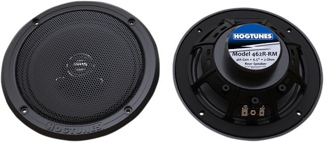 "Hogtunes 6.5"" Generation 4 Rear 200 Watt Speakers 14-20 Harley Touring FLHX FLHT"