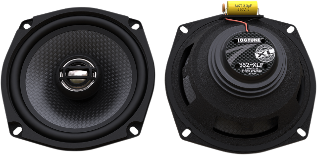 Hogtunes 150 Watt XL Series Rear Speakers 06-13 Harley Touring FLHXS FLHTCU