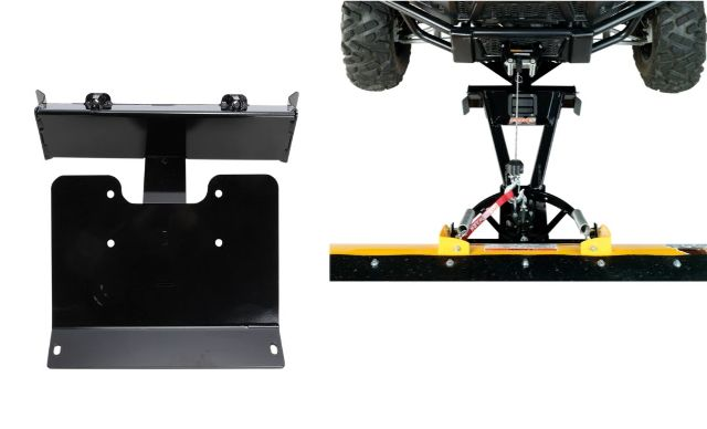 Moose Snow Plow Plate & Frame Mount Kit for 16-18 Can-Am Defender 800R HD8 4x4