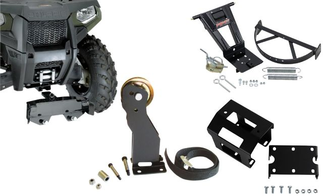 Moose Utility Complete RM4 Snow Plow Frame Mounting Kit & Pulley 11-14 Polaris